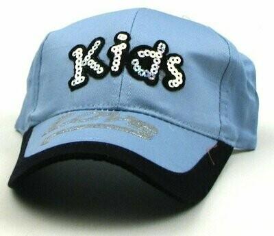 Two Tone Blue Kids Cap