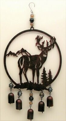 Deer Cut Out Wind Chime