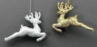 Reindeer Ornaments set of 2