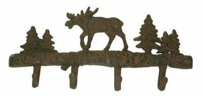 Cast Iron Moose Wall Hook