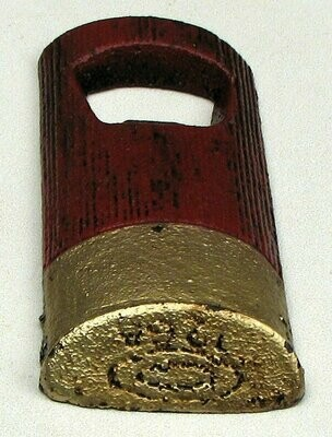 Shotgun Shell Bottle Opener Cast Iron