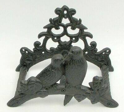 Cast Iron Bird Hose Reel