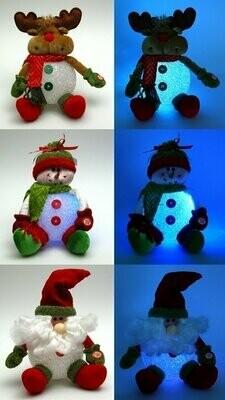 Plush EVA SnowmanMoose/Santa Assortment