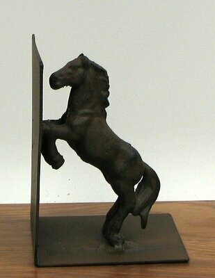 Cast Iron Horse Bookend