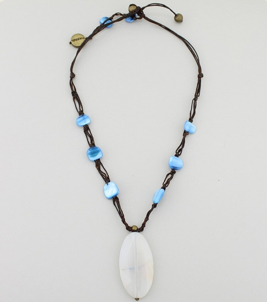 Handmade Quartz Pendant Necklace