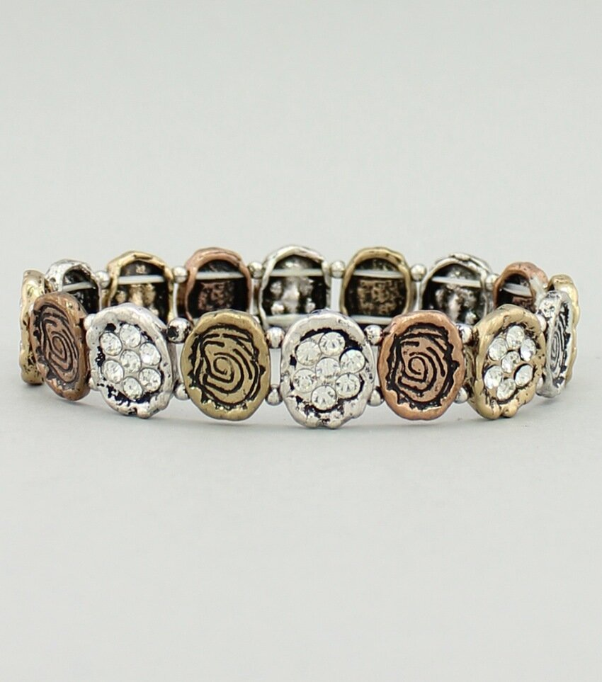 Craft Pave Stretch Bracelet