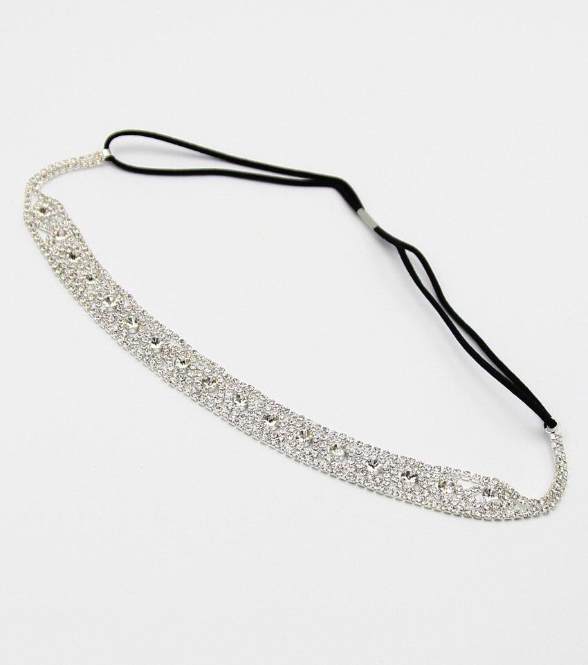 Rhinstone Stretch Headband