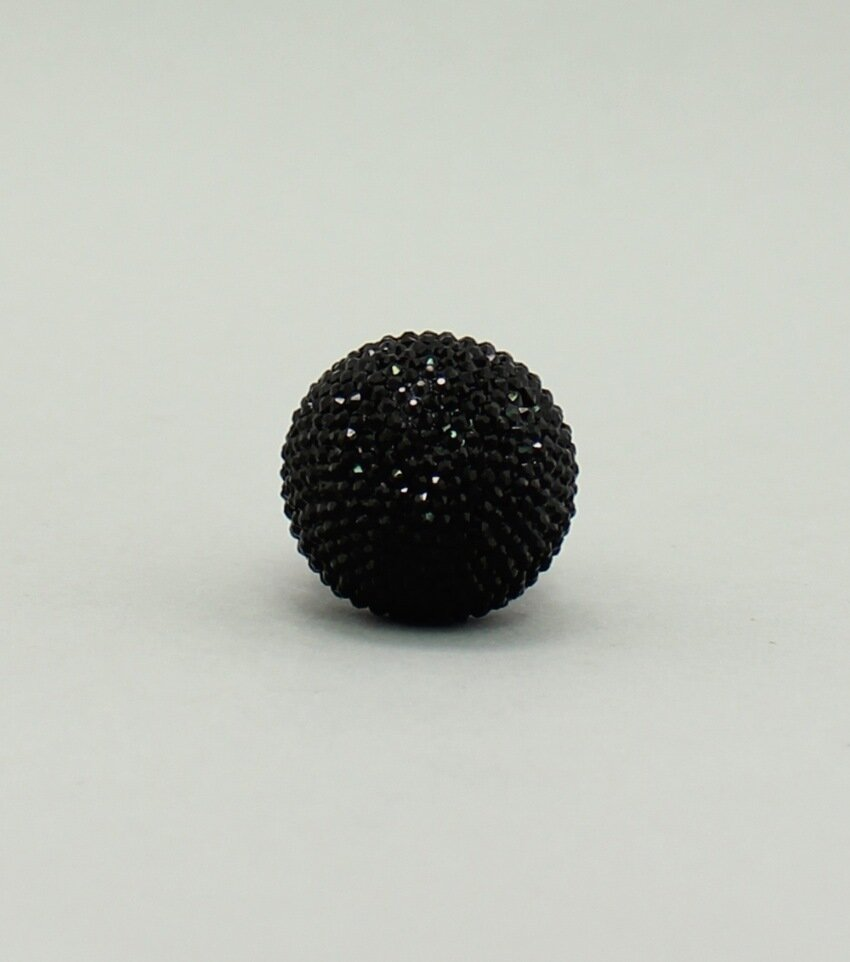 Pave Crystal Dome Stretch Ring