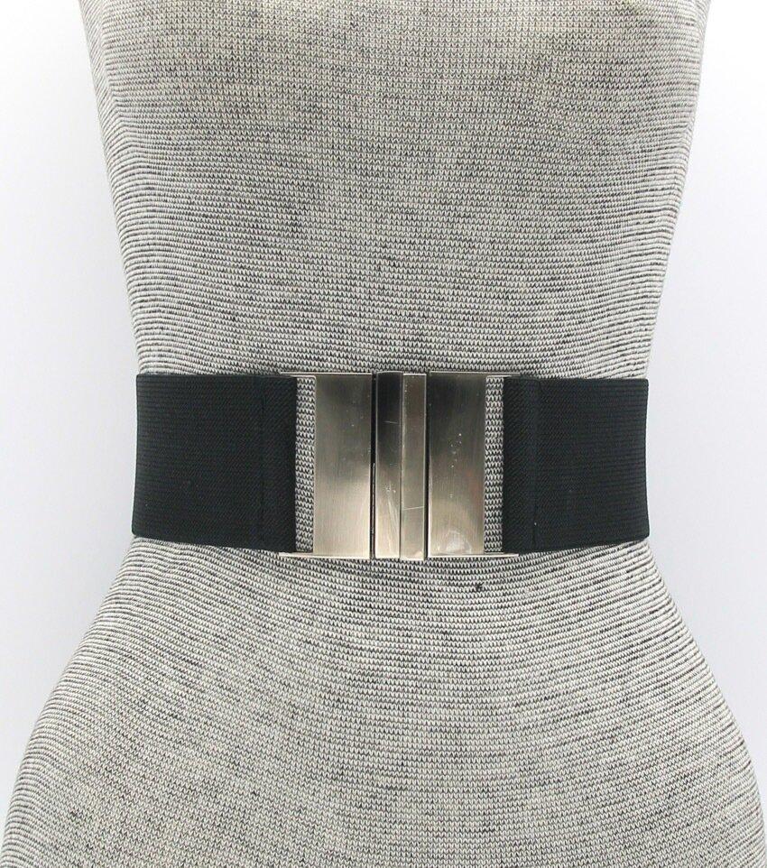 Hook Buckle Stretch Fashion Belt