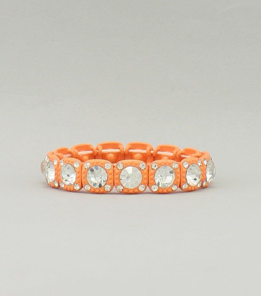 Pastel Rhinestone Crystal Bracelet