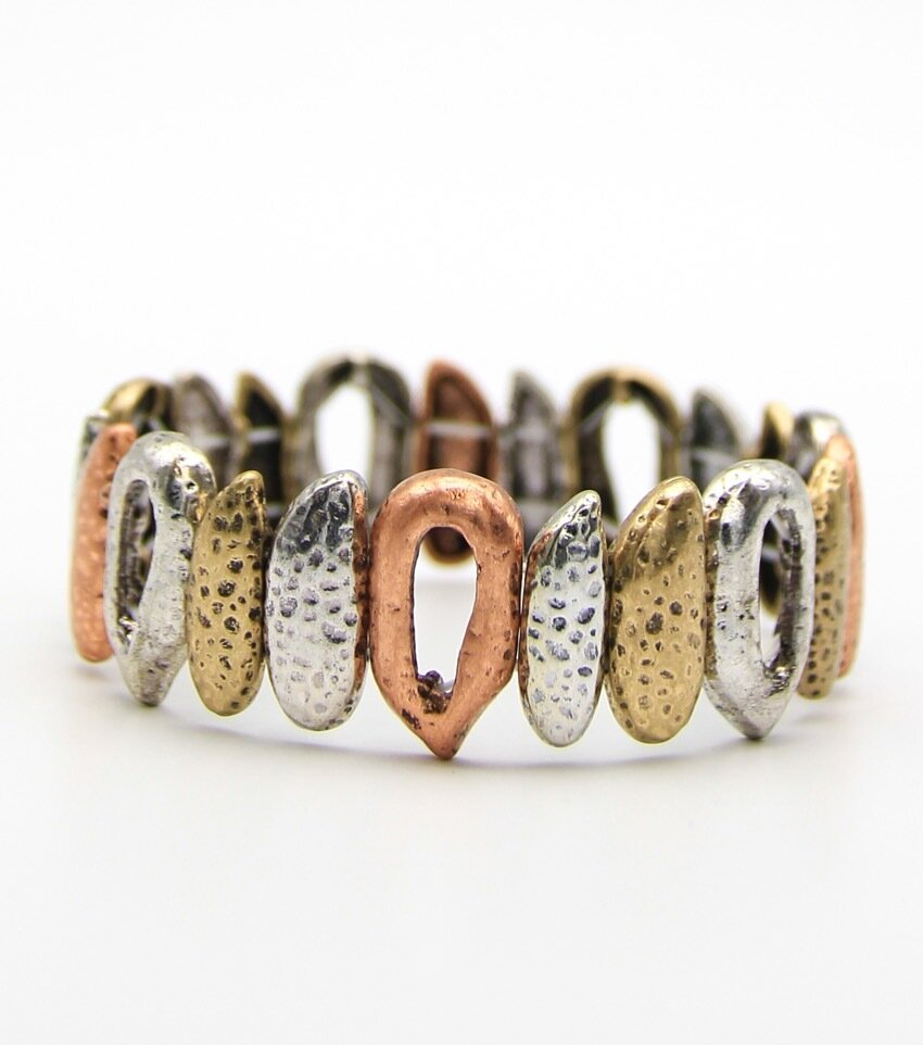 Fangs Deco Stretch Bangle