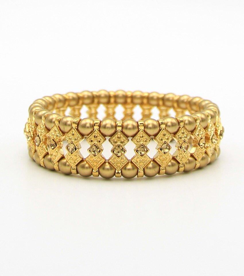 Pearl Beaded Bridal Bracelet