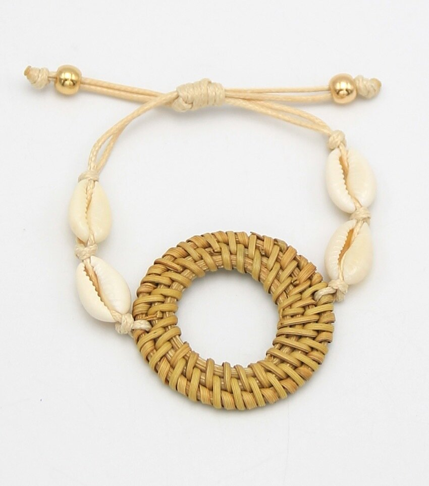 Resort Collection Puka Drawstring Bracelet
