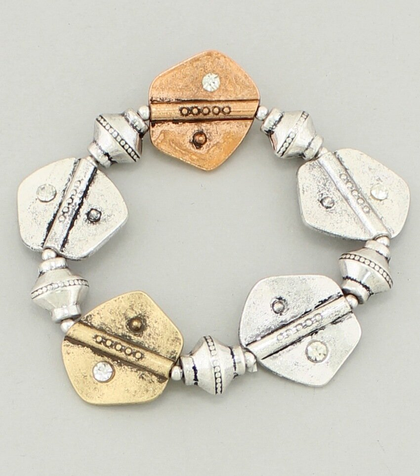 Crafts Metal Stretch Bracelet