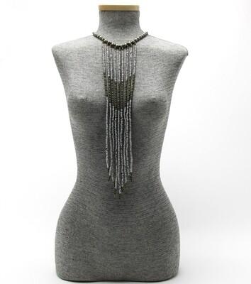 Handmade Natural Fiber Beaded Upton Body Jewelry