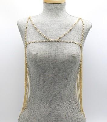 Metal Link Fringe Body Jewelry