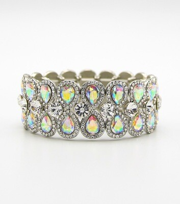 Crystal Stretch Bridal Bracelet