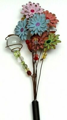 Glow In The Dark Flower Garden Stake - Assorted Styles
