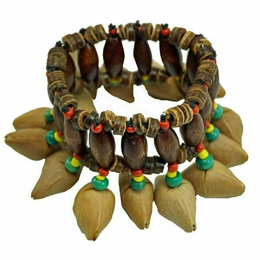 Kenari Nut Shaker Bracelet - Jamtown World Instruments