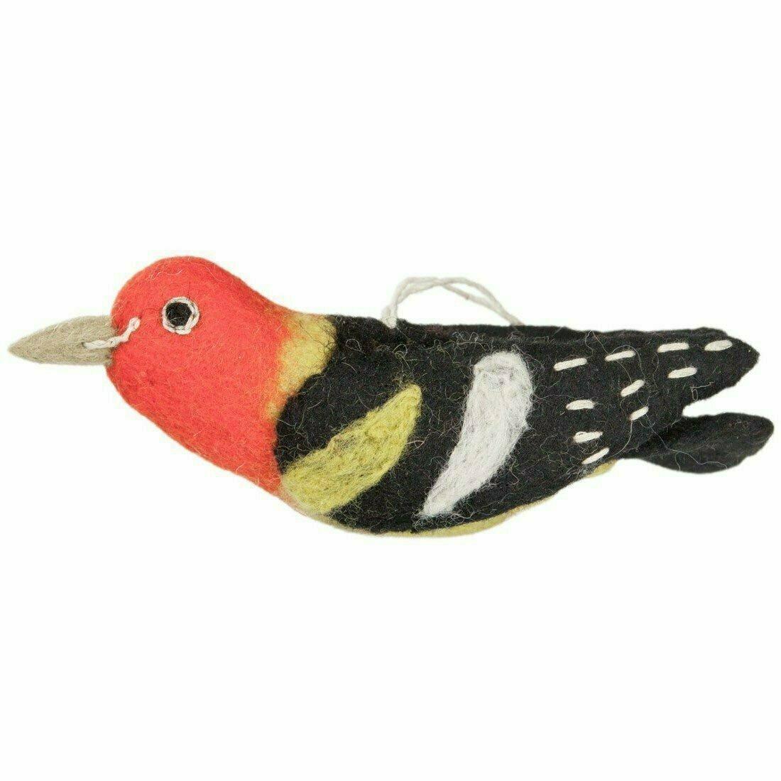 Wild Woolies Felt Bird Garden Ornament - Western Tanager - Wild Woolies (G)