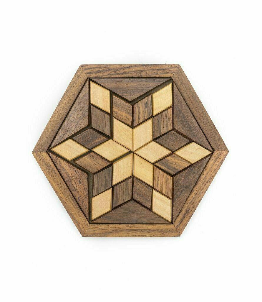 Wooden Star Puzzle - Matr Boomie