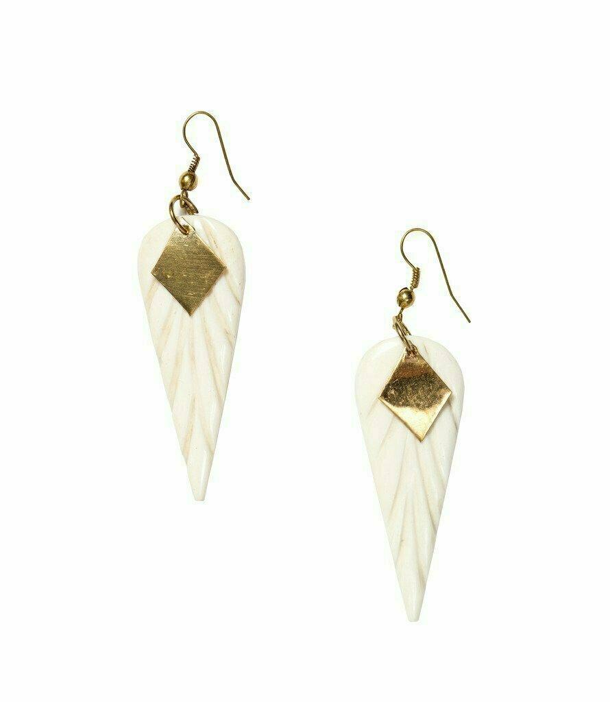 Anika Earrings Wings - Matr Boomie (Jewelry)