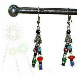 Vibrant Life Earrings - Zakali Creations