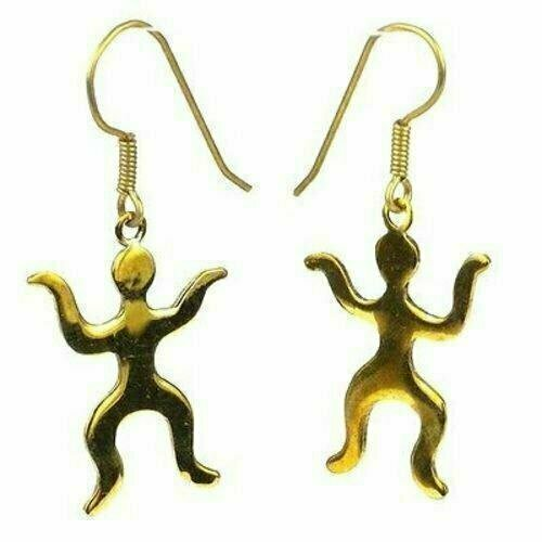 Tiny People Bomb Casing Earrings - Craftworks Cambodia