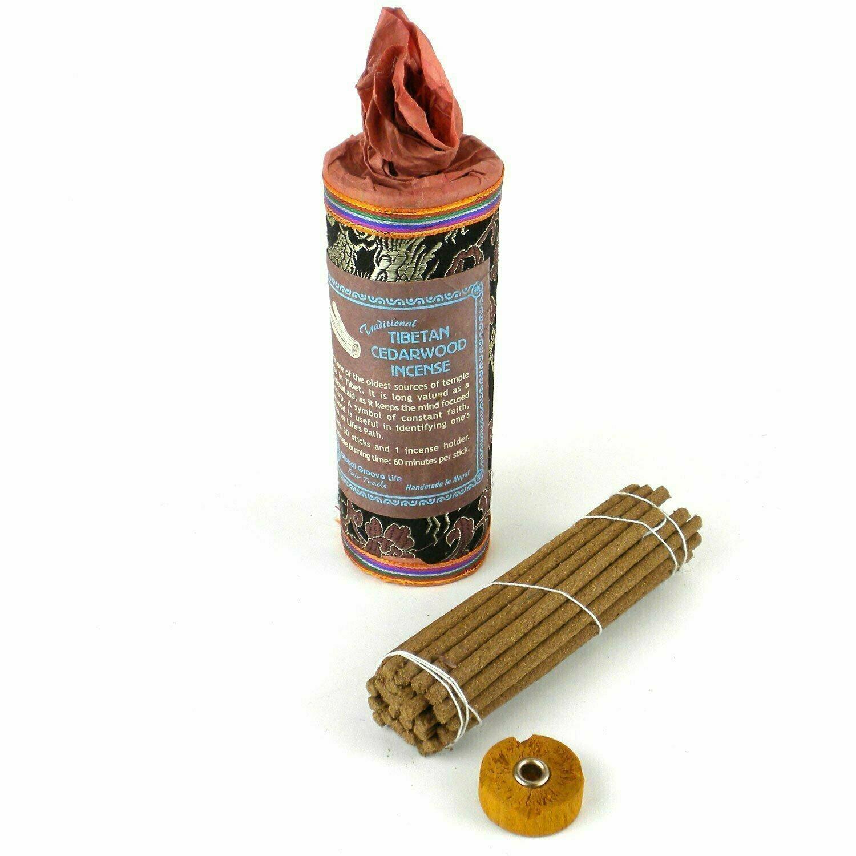 Tibetan Incense - Cedar - Global Groove (I)