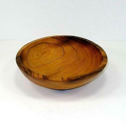 7.5-Inch Hand-carved Olive Wood Bowl - Jedando Handicrafts