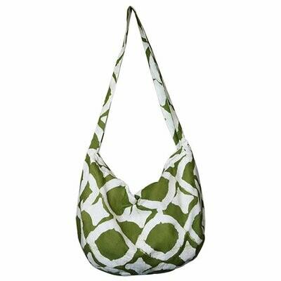 Globe Trotter Bag Fisheye Design Olive - Global Mamas (Bag)