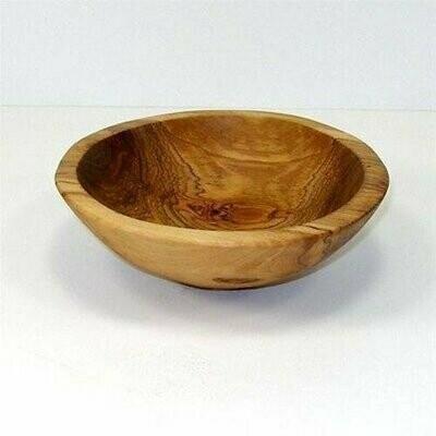 6-Inch Hand-carved Olive Wood Bowl - Jedando Handicrafts