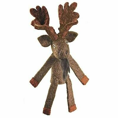 Woolie Finger Puppet - Moose - Wild Woolies (T)