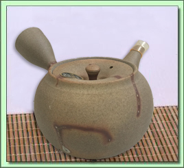 115-661 Tokonami Hidasuki Tea Pot (Ita-Ami Filter)