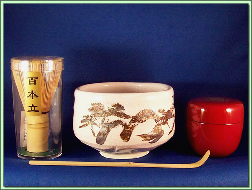 118-063 Calligraphy Ceremonial Set