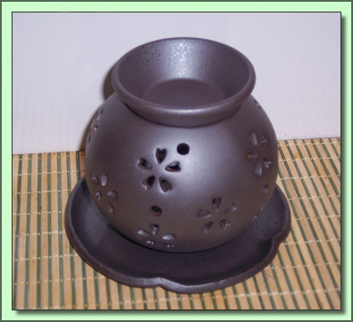 1265  Incense Burner: Flower