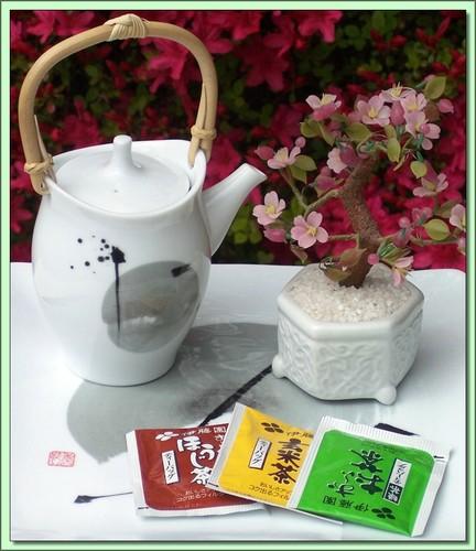 Sencha/Genmai/Houji (Japan) - 60 Tea Bags