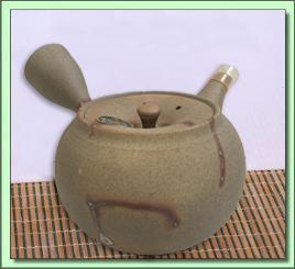 115-661 Tokonami Hidasuki Tea Pot (Ita-Ami Filter)