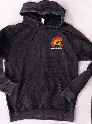 Dark grey CO hoodie FRONT