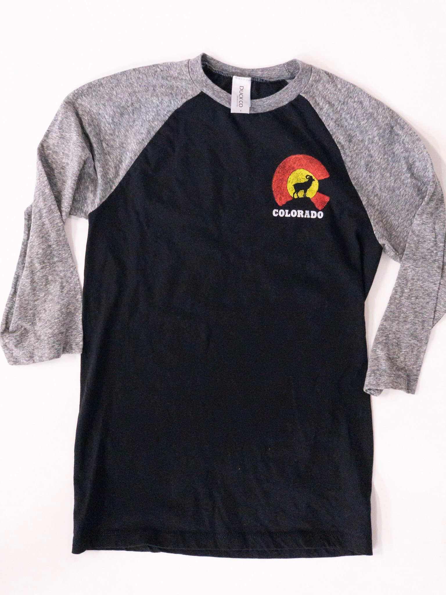 Colorado black and grey Raglan 00021