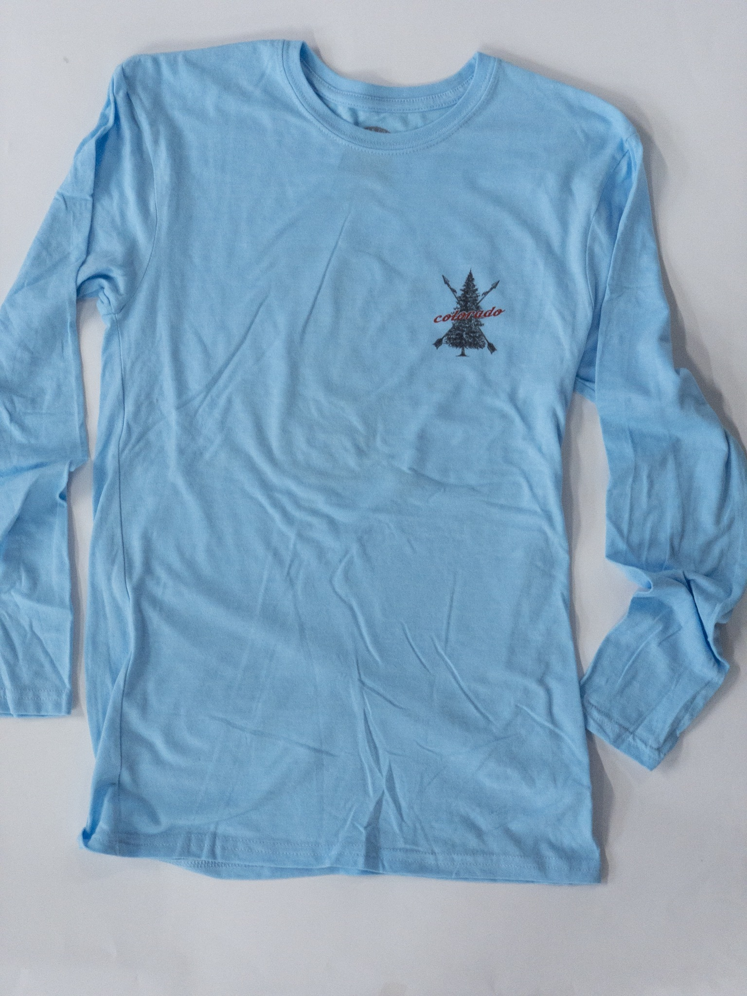 Blue Colorado Tree T-shirt 00022