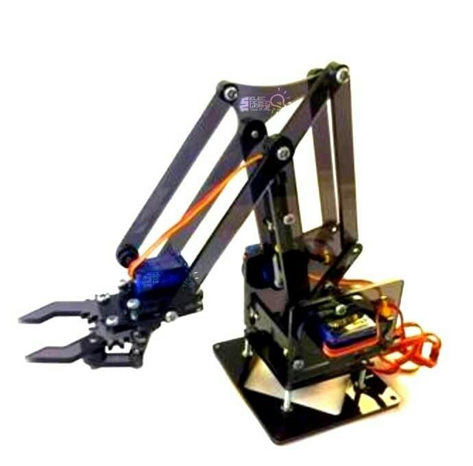 Kit Brat robotic acrilic 4 axe