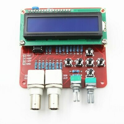 Generator de Functii DDS, Frecventa Reglabila