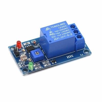 Modul releu 12V cu senzor lumina