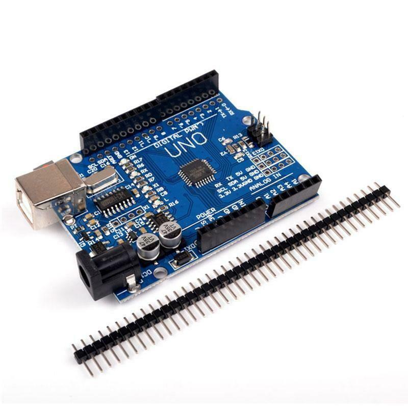 Placa dezvoltare UNO R3 Arduino Compatibil, ATmega328p, CH340G, cu bara pini