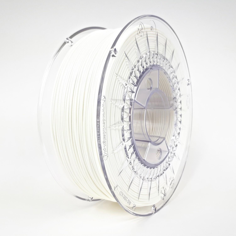 Filament Devil Design PLA, 1Kg, Alb