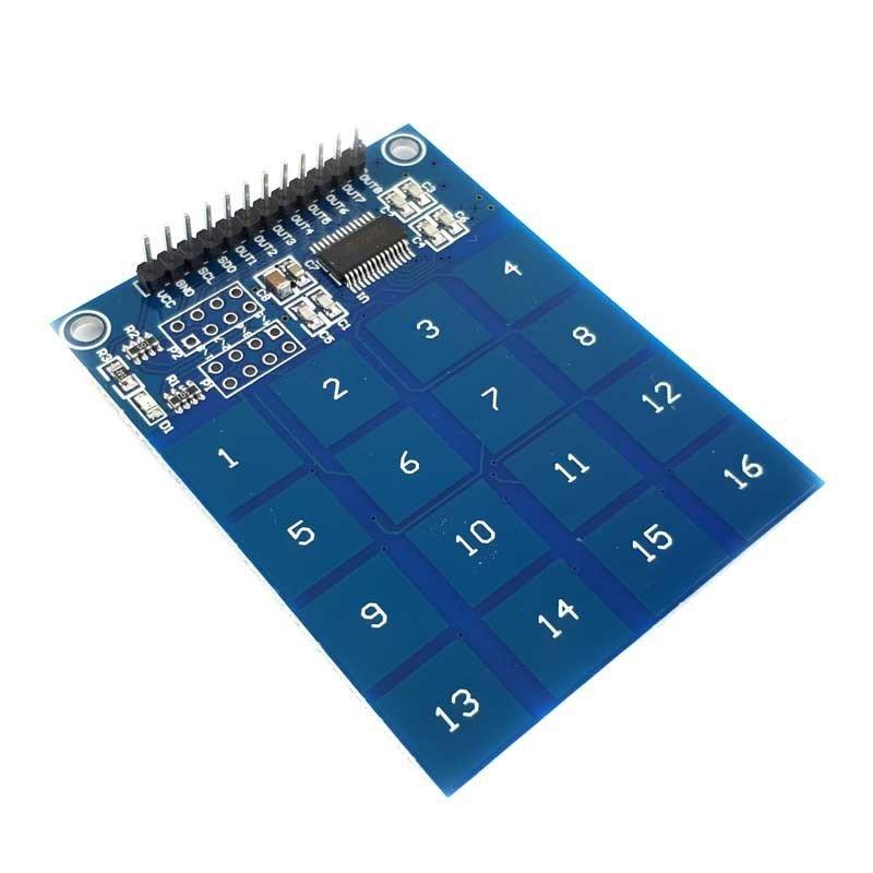 Modul senzor atingere capacitiv 16 canale TTP229
