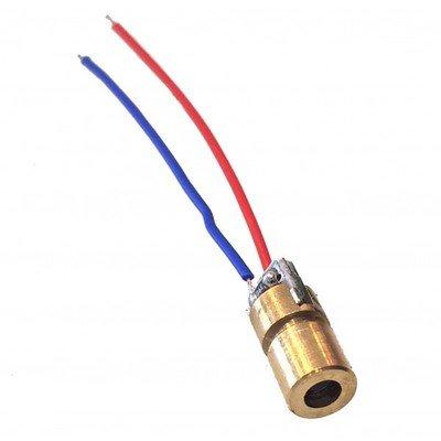 Dioda laser 5V 5mW 650nm
