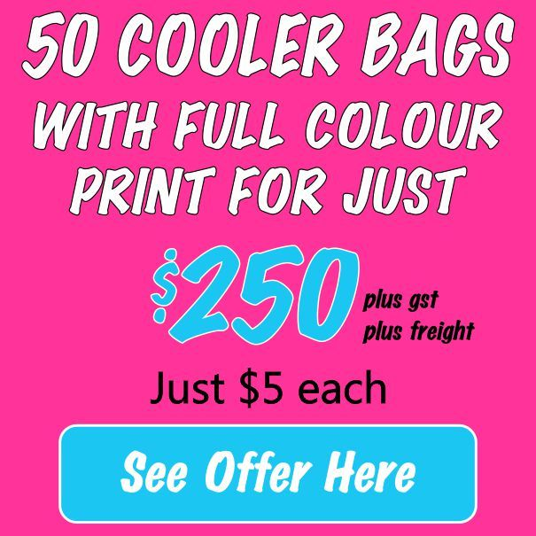 50 Small Cooler Bags for $250* 00132