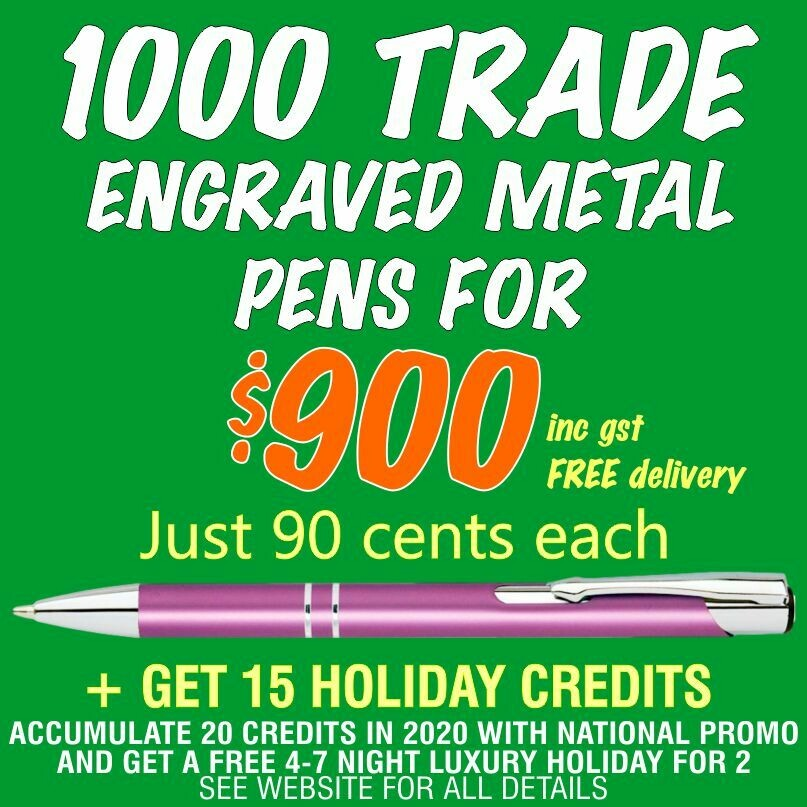 1000 Metal Slim Flash Pens for $900 with FREE DELIVERY